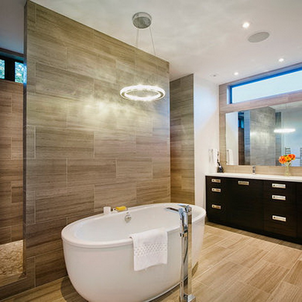 L m construction for Bathroom decor high road